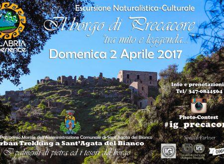 Escursione Naturalistica Culturale a Precacore e Sant'Agata del Bianco