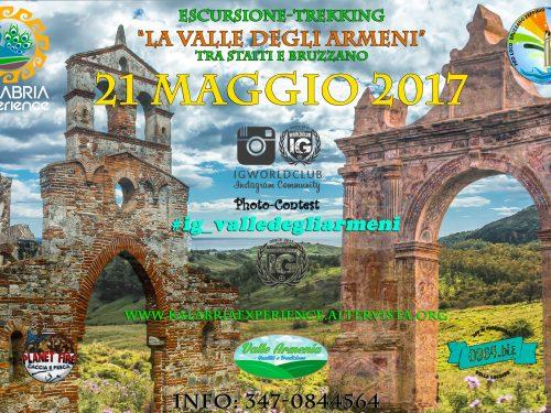 Domenica 21 Maggio – Alla scoperta della Valle degli Armeni-