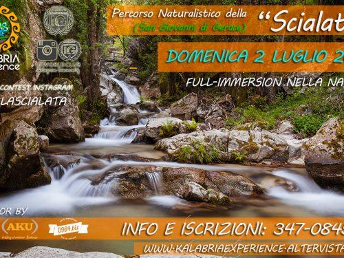 """Domenica 2 Luglio- Escursione sul sentiero naturalistico della """"Scialata"""" a S. Giovanni di Gerace (Rc)"""