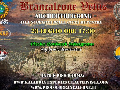 Domenica 23 Luglio -Archeotrekking a Brancaleone Vetus (RC)-