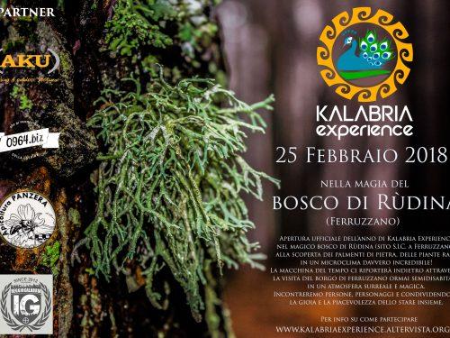 Inaugurazione anno escursionistico al Bosco di Rùdina di Ferruzzano (RC)