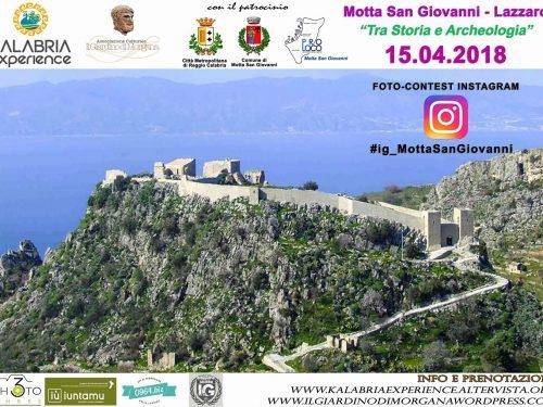 La Via dei Borghi – Domenica 15 Aprile a Motta S. Giovanni e Lazzaro (RC)