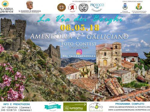 Domenica 6 Maggio La via dei borghi a Gallicianò-Amendolea!