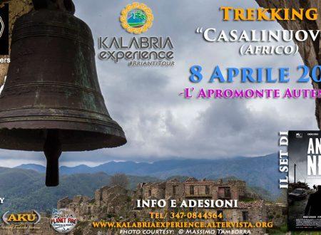 Domenica 8 Aprile – Trekking a Casalinuovo (Africo)