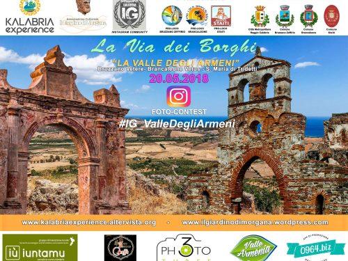 Domenica 20 Maggio, La Via dei Borghi visiterà la Valle degli Armeni