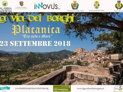 La via dei borghi a Placanica (RC) Domenica 23 Settembre!