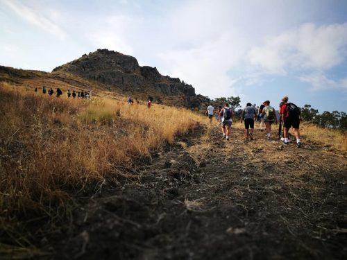 UNITI PER LA SOLIDARIETA' 2018, Escursione alle Rocche di Prastarà  (Montebello Jonico)