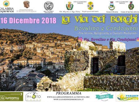 Domenica 16 Dicembre La Via Dei Borghi a Bovalino Superiore e Condojanni (RC)