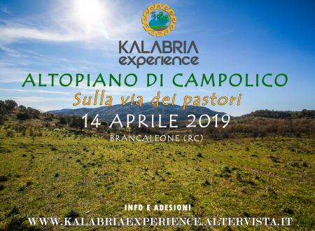 """Escursione ai Piani di Campolico """"Sulla Via dei Pastori"""" Brancaleone (RC)"""
