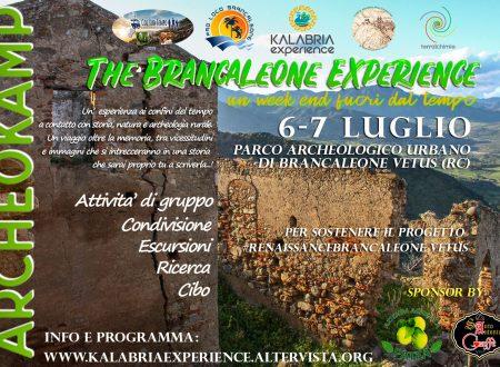"ArcheoKamp ""The Brancaleone Experience"" 6-7 Luglio 2019"