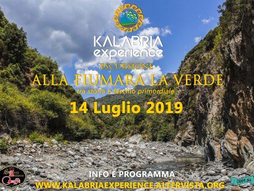 Il 14 Luglio escursione alla Fiumara La Verde (Samo)