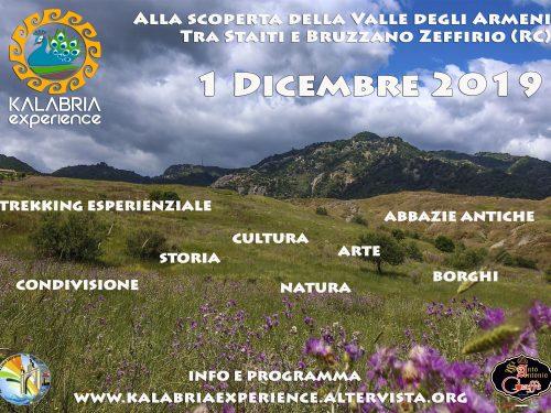 Domenica 1 Dicembre, alla scoperta della Valle degli Armeni