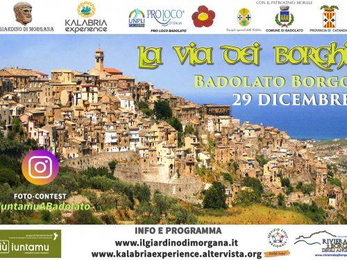 La Via dei Borghi a Badolato (il programma)