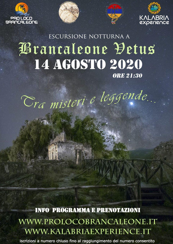 escursione in notturna a Brancaleone vetus