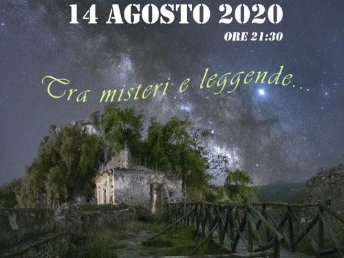"Escursione in notturna a Brancaleone Vetus (RC) ""Tra leggende e misteri"""