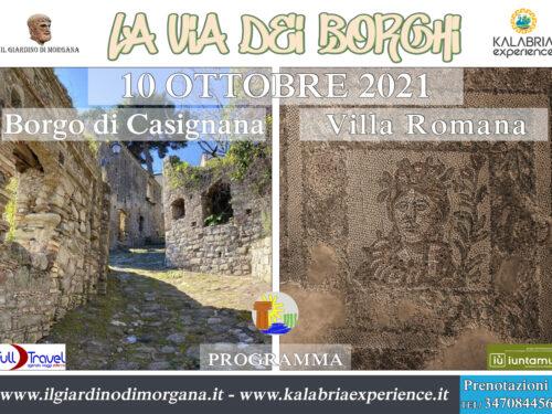 Domenica 10 Ottobre; La via dei Borghi a Casignana